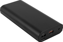 BlueBuilt Powerbank 20.000 mAh Power Delivery 3.0 + Quick Charge 3.0 Zwart