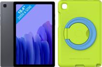 Samsung Galaxy Tab A7 32 Go Wi-Fi Grij + Étui pour enfant Vert
