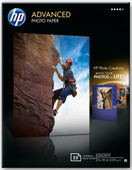 HP Advanced Glossy Photo Paper 25 sheets (13 x 18)