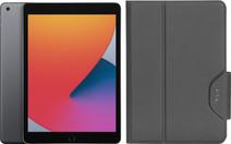 Apple iPad (2020) 128 Go Wi-Fi Gris Sidéral + Targus VersaVu Book Case