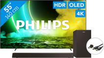 Philips 55OLED705 (2021) + Soundbar + HDMI kabel
