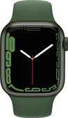 Apple Watch Series 7 41mm Groen Aluminium Groene Sportband