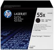HP 55XD LaserJet Toner Zwart Dual Pack (CE255XD)