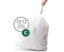 Simplehuman Trash Bags Code C - 10 to 12 Liters (20 units)