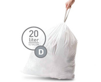 Simplehuman Waste bags Code D - 20 Liter (20 pieces)