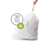 Simplehuman Waste bags Code G - 30 Liter (20 pieces)