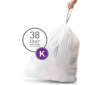 Simplehuman Waste bags Code K - 38 Liter (60 pieces)