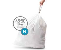 Simplehuman Waste Bag Code N Pocket Liners 45 Liter (60 pieces)