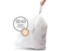 Simplehuman Waste bags Code Q - 50-65 Liter (20 pieces)