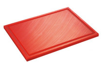 Inno Cuisinno Horeca Chopping board with crease 32,5 cm Red