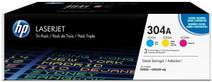 HP 304A LaserJet Toner Tri-pack (CF372AM)