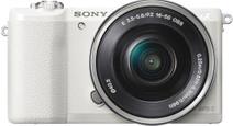 Sony Alpha A5100 Blanc + 16-50 mm OSS