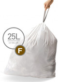 Simplehuman Waste bags Code F - 25 Liter (60 pieces)