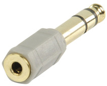 Bandridge Headphones Adapter 3.5mm to 6.3mm