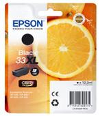 Epson 33 Cartridge Zwart XL (C13T33514010)