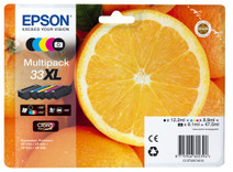 Epson 33 Pack 5 Couleurs XL (C13T33574010)