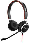 Jabra Evolve 40 UC Stereo Bedrade Office Headset