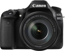 Canon EOS 80D + 18-135 mm IS USM