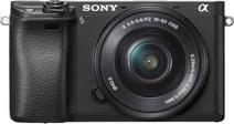 Sony Alpha A6300 Zwart + PZ 16- 50mm OSS