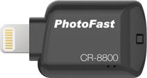 Photofast CR-8800 Flashdrive Lightning MicroSD Noir