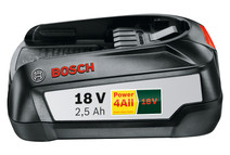 Bosch Battery 18V 2,5Ah Li-Ion