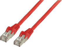 Valueline Netwerkkabel UTP CAT5e 1 meter Rood