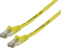 Valueline Câble réseau FTP CAT6 1 mètre Jaune
