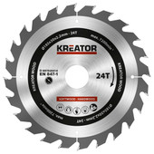Kreator Saw Blade for Wood 185x30x2.2mm 24T