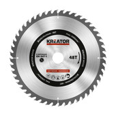 Kreator Saw Blade for Wood 250x30x3mm 48T