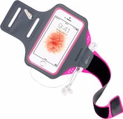 Mobiparts Comfort Fit Bracelet de sport Apple iPhone 5/5S/SE Rose