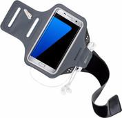 Mobiparts Comfort Fit Bracelet de sport Samsung Galaxy S7 Edge Gris