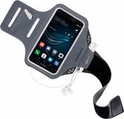 Mobiparts Comfort Fit Sportarmband Huawei P9 Grijs