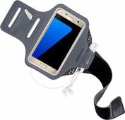 Mobiparts Comfort Fit Bracelet de sport Samsung Galaxy S7 Gris