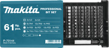 Makita Set d'embouts 61 pièces P-70144