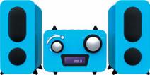 Bigben Microset Radio/Lecteur CD Bleu