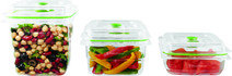 Foodsaver Fresh Boîte de Conservation 0,8 L + 1,2 L +1,8 L