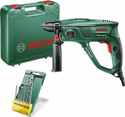 Bosch Marteau perforateur PBH 2100 RE + Set de forets 6 pièces SDS-Plus