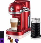 KitchenAid Nespresso en Aeroccino 5KES0504 Appelrood