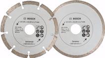 Bosch Disque diamant 125 mm 2 pièces