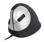 R-Go HE Vertical Ergonomic Mouse Medium Left Wired