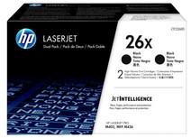 HP 26X Toner Zwart XL Duo Pack (CF226XD)