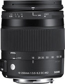 Sigma 18-200 mm f/3,5-6,3 DC Macro OS HSM C Nikon