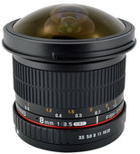 Samyang F 8mm f/3.5 Fisheye MC CSII Nikon