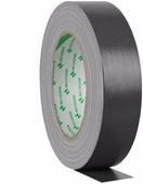 Nichiban Gaffa Tape Zwart 25 m lang, 50 mm Breed