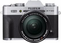 Fujifilm X-T20 Zilver + XF 18-55mm f/2.8-4.0 R LM OIS