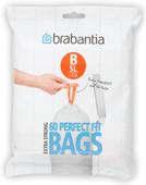 Brabantia Garbage bags Code B - 5 Liter (60 pieces)