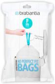 Brabantia Garbage bags Code F - 20 Liter (40 pieces)