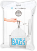 PerfectFit waste bag with draw band closure code H. 50-60 liters, 30 pieces / dispenser pa
