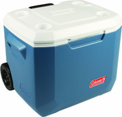 Coleman 50 Qt Xtreme Wheeled Cooler Bleu - Passif