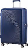 American Tourister Soundbox Expandable Spinner 77cm Midnight Navy